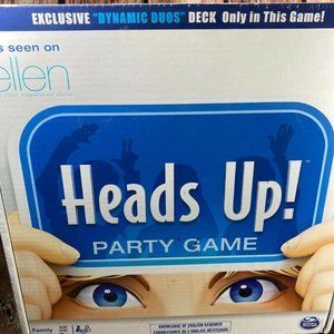 Heads Up! Family Party Game Trivia 1st Edition
